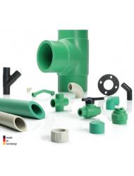 Tubos e acessórios ecológicos para fins domésticos e industriais Baenninger